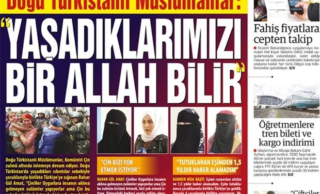 """Doğu Türkistanlı Müslümanlar: """"YAŞADIKLARIMIZI BİR ALLAH BİLİR"""""""