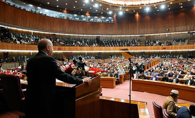 Erdoğan: 'Yüzyılın barış planı' diye yutturulan plan bir işgal projesidir