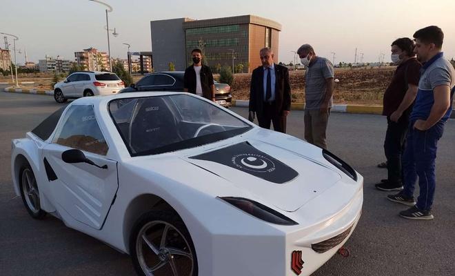 """Adıyaman'da üretilen elektrikli araç """"Efficiency Challenge Electric Vehicle"""" yarışlarına katılacak"""