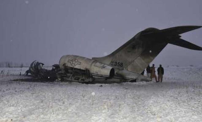 ABD, Afganistan'da düşen uçağın kendilerine ait olduğunu kabul etti