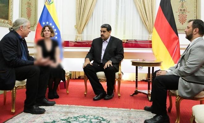 Alman milletvekilinin, Maduro ile görüşmesi Berlin'i karıştırdı