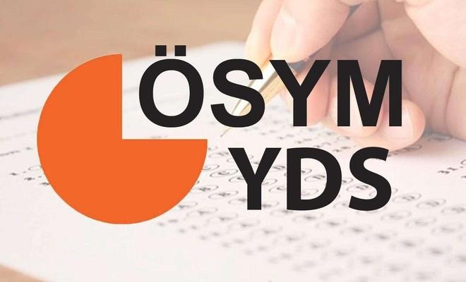 2020-YDS giriş belgeleri yayımlandı