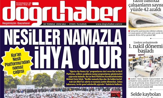 """""""NESİLLER NAMAZLA İHYA OLUR"""""""