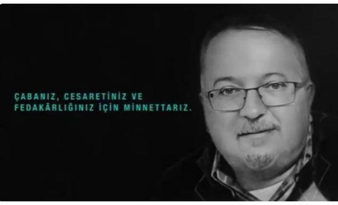 """Bakan Koca: """"Dr. Sinan Kakı'ya mücadelesi için minnettarız"""""""