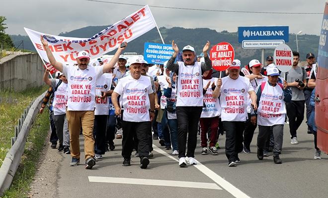 Emek ve Adalet Yürüyüşü 2.gününde