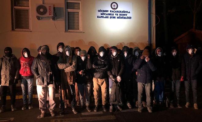 Bitlis'te 83 düzensiz göçmen yakalandı