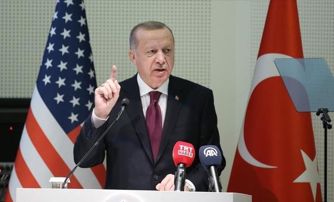 """Cumhurbaşkanı Erdoğan: """"İnancınızı ve sizi siz yapan değerleri koruyun"""""""