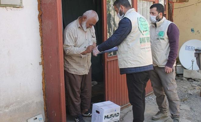 MÜSİAD, Umut Kervanı aracılığıyla yardımlarını muhtaçlara ulaştırdı