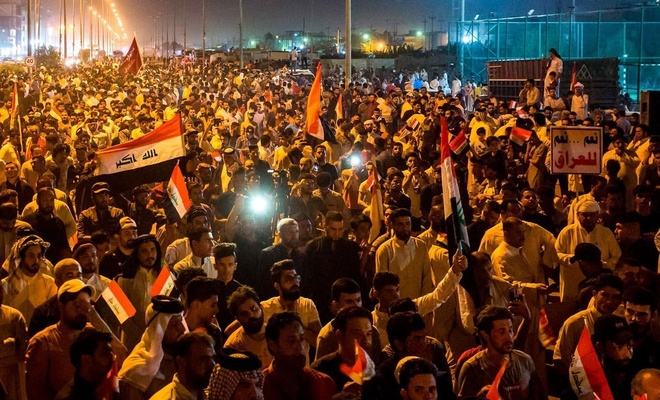 خسائر في الأرواح في مظاهرات 'البطالة والفساد' في العراق