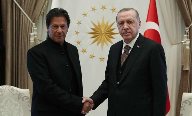 Erdoğan, Prime Minister Imran Khan of Pakistan talk over phone