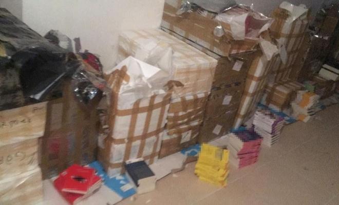 İstanbul'da 11 bin 500 adet korsan kitap ele geçirildi