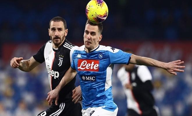 Juventus-Napoli maçı TRT'de