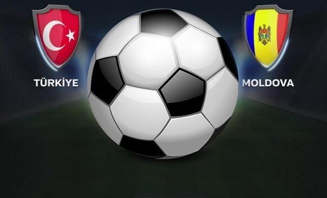 Türkiye - Moldova maçı bu akşam