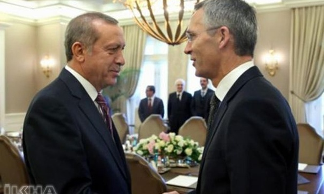 President Erdoğan receives Stoltenberg