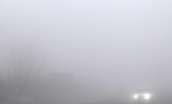 Kastamonu'da sis ulaşımda aksamalara neden oluyor