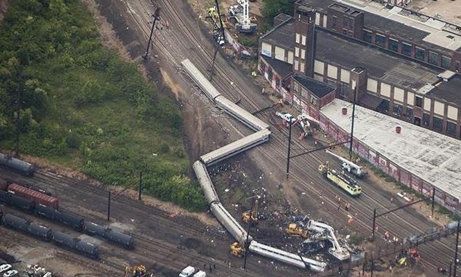 Pennsylvania`da tren kazası: 33 yaralı