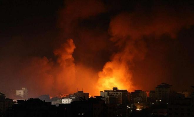 Siyonist işgal rejimi Gazze'ye hava saldırısı düzenledi
