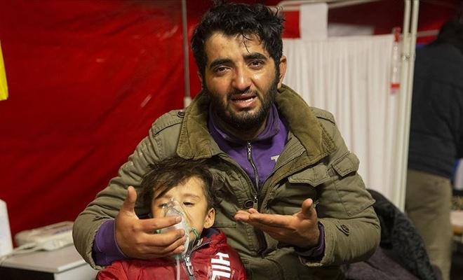 Yunanistan sığınmacılara yine alçakca saldırdı