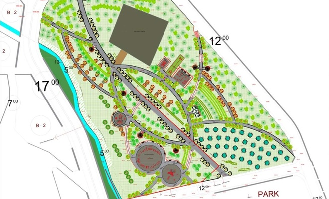 """Diyarbakır'ın Hazro ilçesinde """"Millet Bahçesi"""" inşa edilecek"""