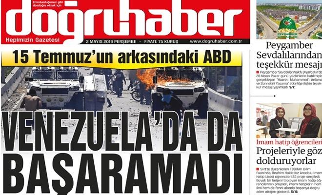 15 Temmuz'un arkasındaki ABD  VENEZUELA'DA DA BAŞARAMADI