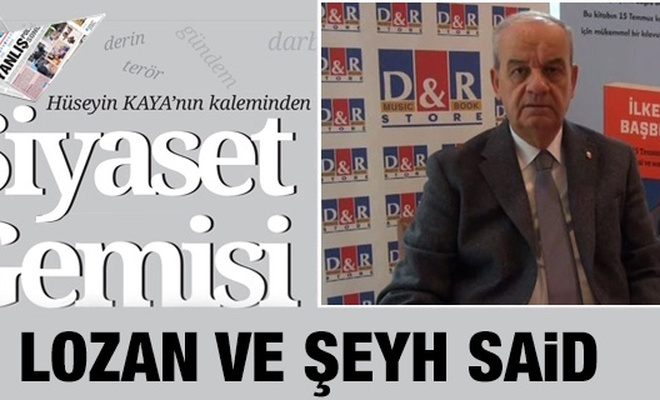 LOZAN VE ŞEYH SAİD