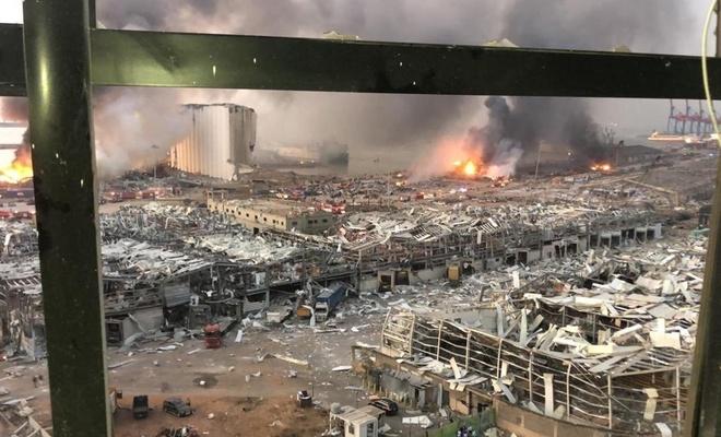 Beyrut'taki patlamada en az 25 ölü 2 bin 500 yaralı var