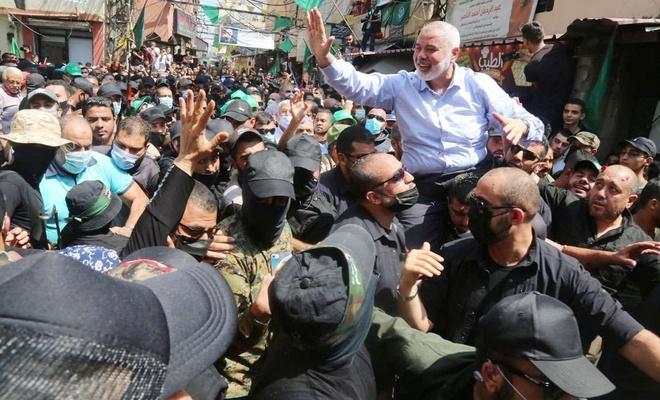 Heniyye'nin Lübnan ziyaretine yönelik ABD'nin çirkin saldırısına HAMAS'tan tepki