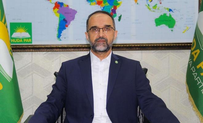 HÜDA PAR Genel Başkanı Sağlam'dan Ramazan ayı mesajı