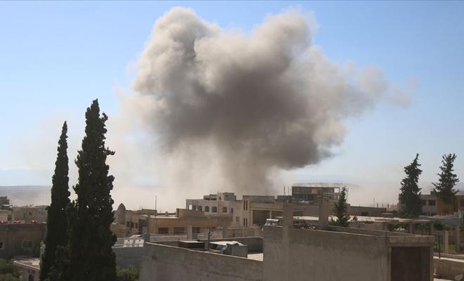 İdlib'e hava saldırısı: 5 sivil yaralı