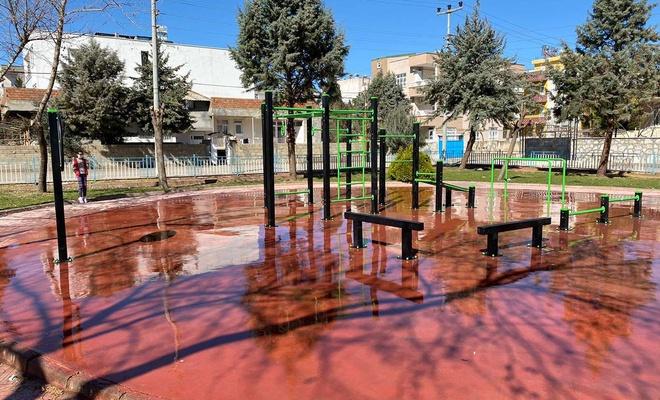 Adıyaman'daki parklar yenileniyor