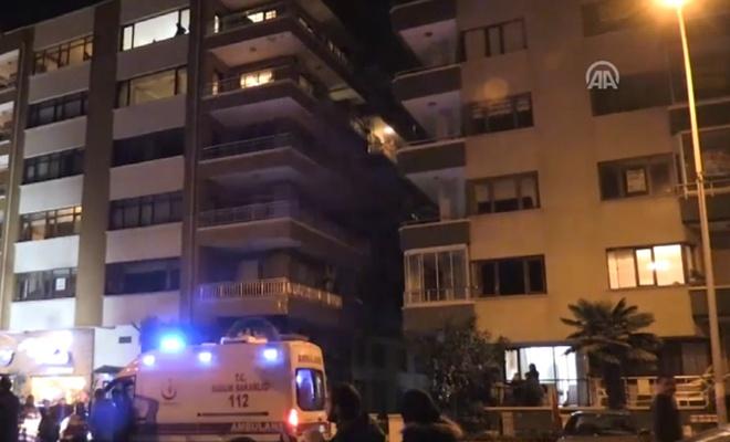 4`üncü kattan düşen kadın öldü