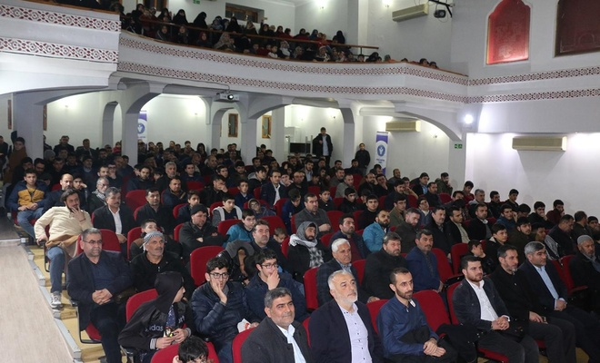 """İDEV tarafından Şanlıurfa'da """"Ahlaki Yozlaşma"""" konulu seminer düzenlendi"""