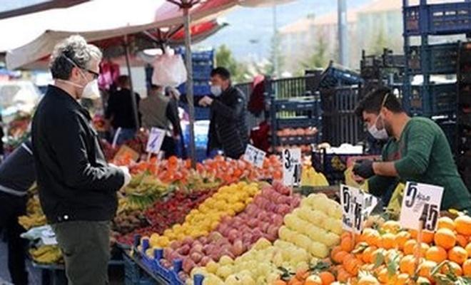 Kayseri'de pazarcılara maske uyarısı!
