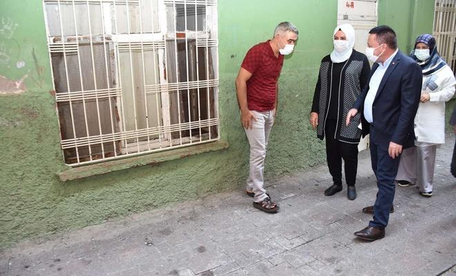 Bağlar Belediye Başkanı Hüseyin Beyoğlu'nun eşinin test sonucu pozitif çıktı