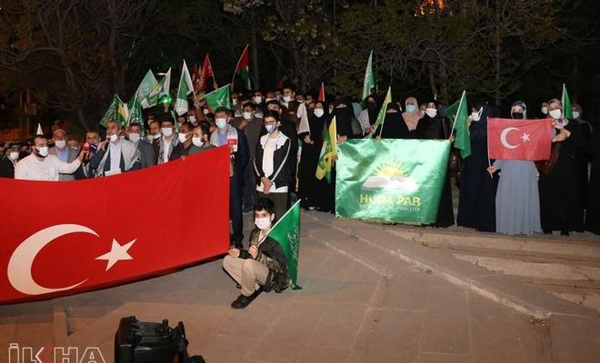 HÜDA PAR'ın Filistin desteği Cumhuriyet'i rahatsız etti!