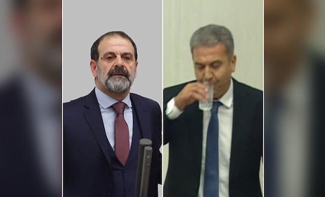 CHP'li vekil su içti HDP'li vekil 'Müslüman değilim' dedi