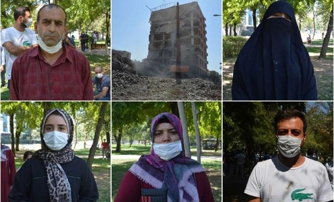 Evlerine yıkım kararı çıkarılan vatandaşlar: Evler yıkılırsa sokakta kalırız