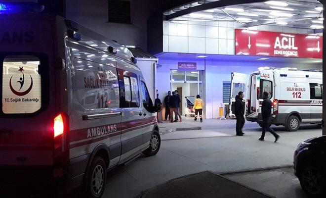 Kayseri'de 2 otomobil çarpıştı: 1 ölü, 2 yaralı