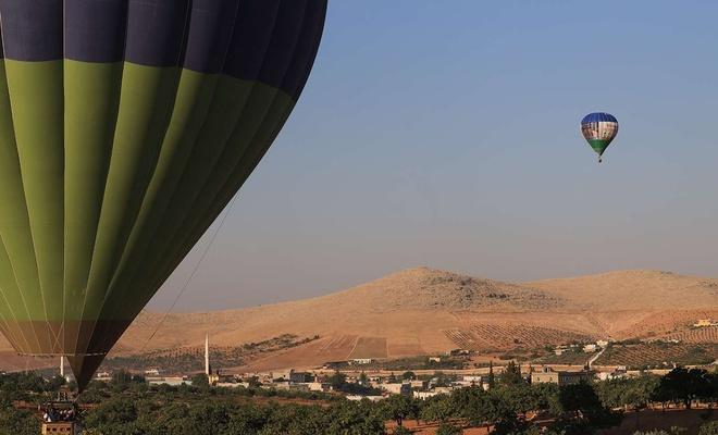Göbeklitepe'de ilk sıcak hava balon uçuşları başladı