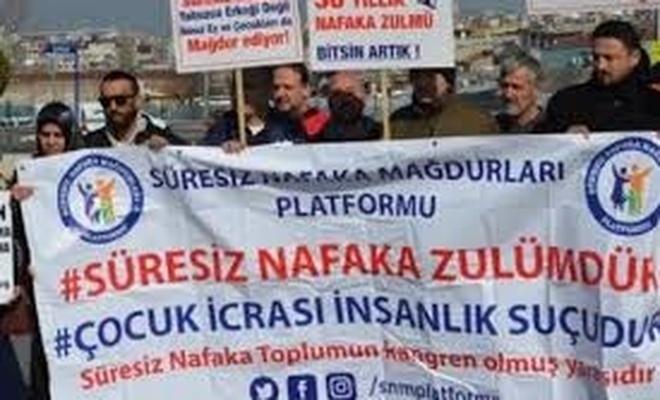 Süresiz Nafaka Mağdurları 'ADALET NÖBETİ' BAŞLATIYOR