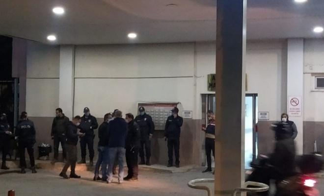 Polis midibüsü şarampole devrildi!