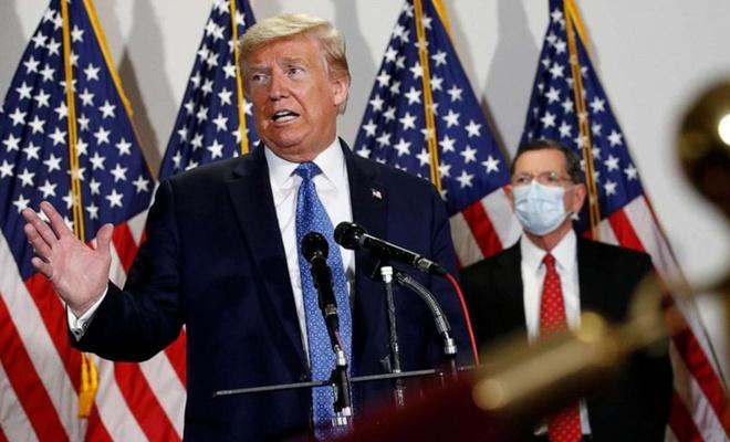 """ABD Başkanı Trump: """"İkinci dalga olursa ekonomiyi durdurmayacağız"""""""