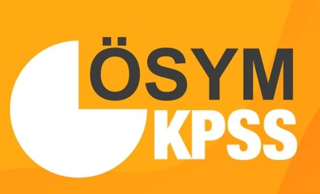 KPSS branş sıralaması nereden bakılır? ÖSYM KPSS Lisans branş sıralaması 2021