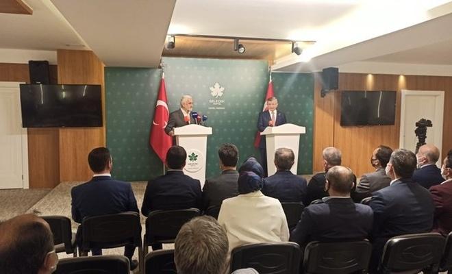 Yapıcıoğlu ve Davutoğlu'ndan ortak basın açıklaması