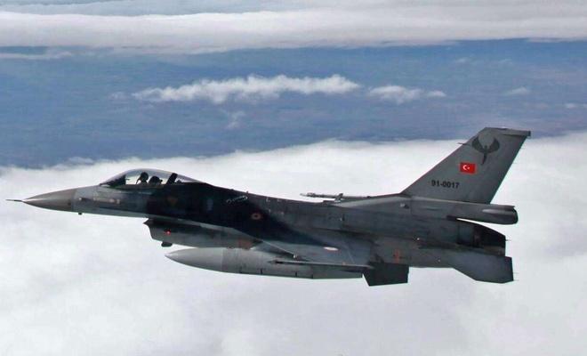 Irak'ın kuzeyindeki Avaşin'e hava harekâtı düzenlendi