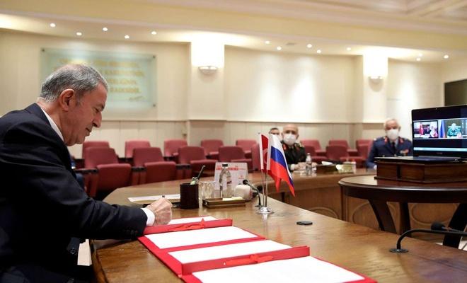 Karabağ'da Türkiye-Rusya merkezinin oluşturulmasına ilişkin muhtıra imzalandı