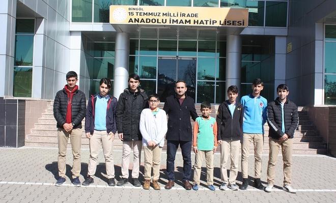 Bingöllü öğrencilerden İdlib için anlamlı yardım kampanyası