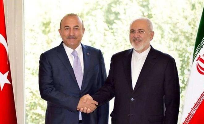 """Çavuşoğlu ile Zarif """"siyonist işgalci rejimin"""" saldırılarını görüştü"""