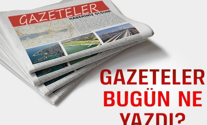 Gazete 1. Birinci Sayfaları