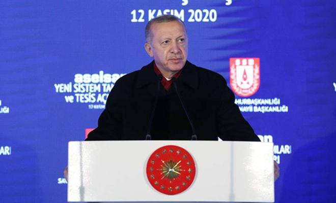 Cumhurbaşkanı Erdoğan ASELSAN Yeni Sistem Tanıtımları töreninde konuştu